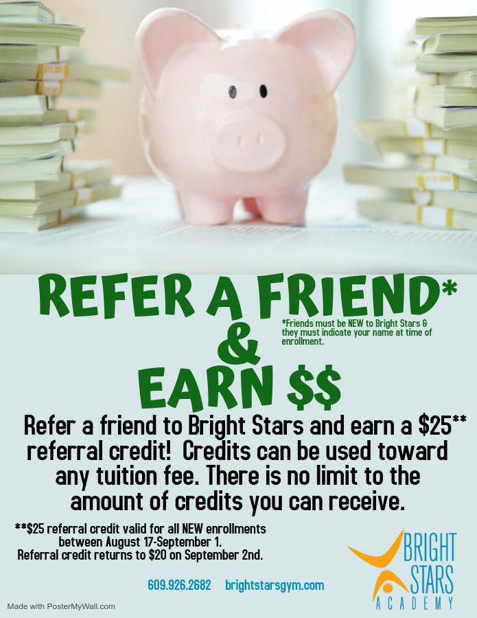 refer a friend september 2020