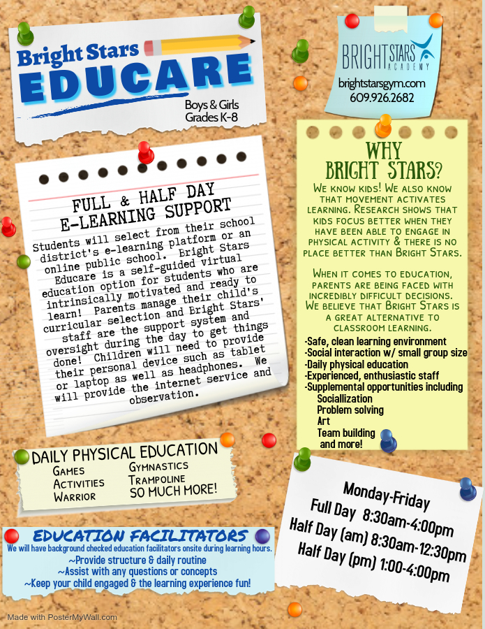 educare flyer